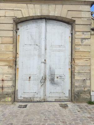 Chateau Laboissière 1 -  Porte Cochère Avant Dépose