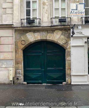 PORTE COCHERE 167 RUE SAINT JACQUES PARIS 5