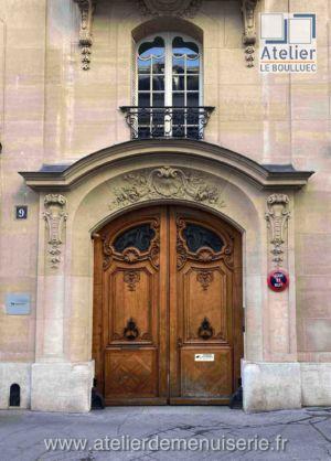 PORTE COCHERE 9 RUE DE MILAN PARIS 9