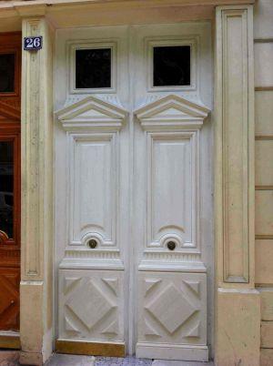 Porte-Alesia-3-posée Avant Peinture