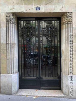 Porte Acier 18 RUE CAULAINCOURT