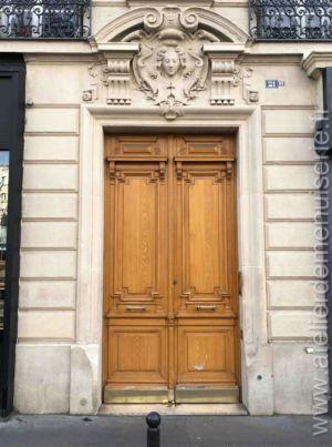 Porte Batarde - 21 Bis Av De La Motte Picquet - Paris 7