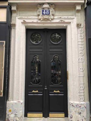 Porte Batarde 48 Rue Crozatier Posée