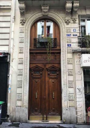 Porte Batarde Avec Baie D\'entresol 4 RUE PACHE PARIS 11