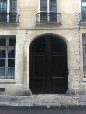 Porte Cochère - 14 RUE ELZEVIR PARIS 3