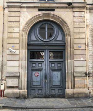 Porte Cochère - 25 Rue Oudinot - Paris 7