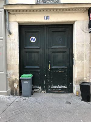 Porte Cochère 19 Rue Des Feuilantines Photo 1 - Avant Dépose