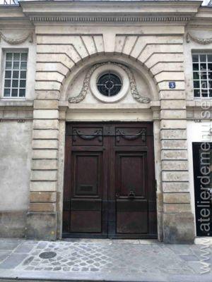 Porte Cochère 3 Rue De Baune Paris 7