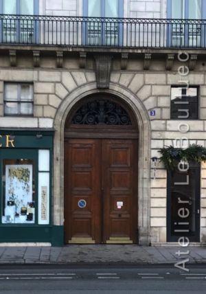 Porte Cochère Empire - 3 QUAI VOLTAIRE PARIS 7