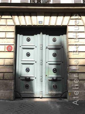 Porte Cochère Empire - 48 RUE DE PARADIS