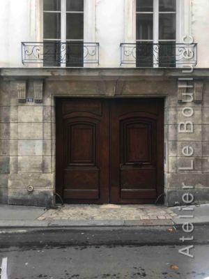 Porte Cochère  Louis XIII - 16 RUE ELZEVIR PARIS 3