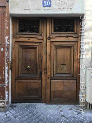 Porte Cochère Louis XIII - 20 RUE CHARLOT PARIS 3