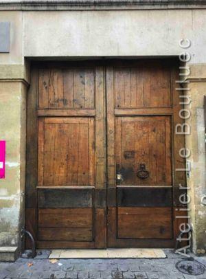 Porte Cochère Louis XIII - 20 RUE DES CANETTES PARIS 6