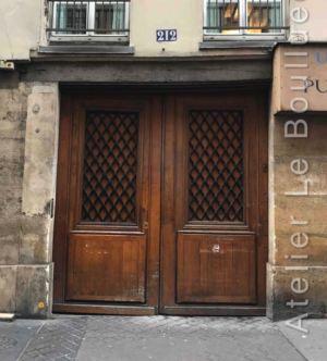 Porte Cochère Louis XIII - 212 RUE SAINT JACQUES