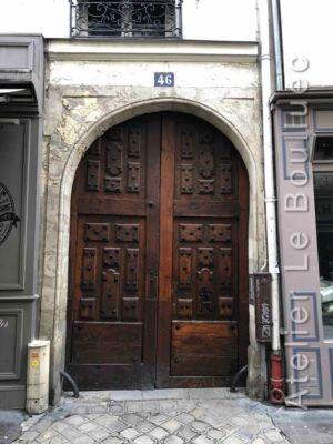 Porte Cochère Louis XIII - 46 RUE MONSIEUR LE PRINCE PARIS 6