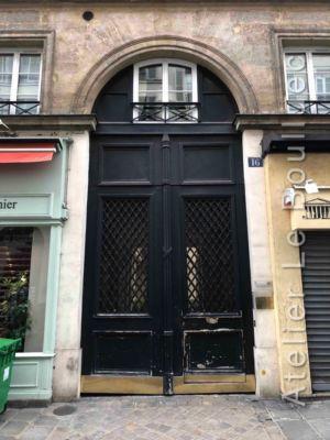Porte Cochère Louis XV - 16 RUE VIGNON PARIS 8
