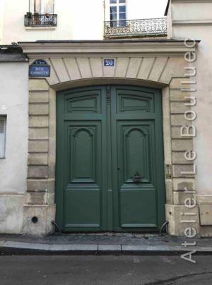 Porte Cochère Louis XV - 20 RUE CASSETTE PARIS 6