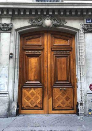Porte Cochère Louis XV - 44 RUE DU LOUVRE PARIS 1