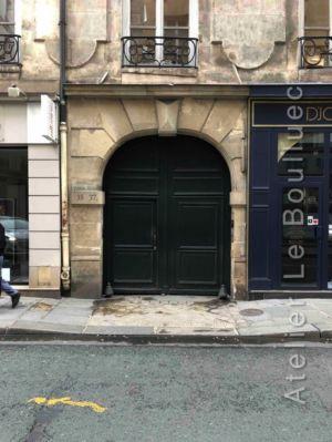 Porte Cochère Louis Xiii - 35-37 RUE DES PETITS CHAMPS PARIS 2EME