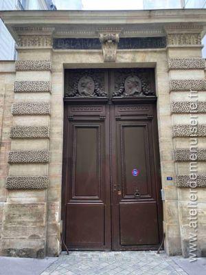 Porte Cochère  Monumentale 15 RUE BARBETTE - PARIS 3 - Face Ext