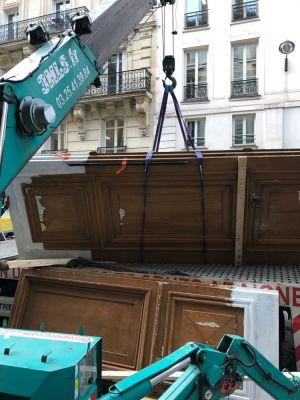 Porte Cochère Monumentale 68 Rue De La Chaussé D'Antin - 08 - En Cours De Repose