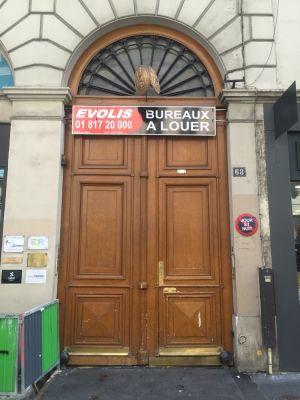 Porte Cochère Monumentale 68 Rue De La Chaussé D'Antin - 0 - Avant Dépose