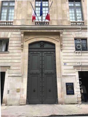 Porte Monumentale Bibliothèque Nationale - 58  Rue De Richelieu 2 - Paris 2