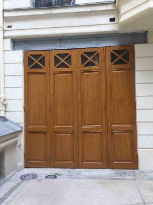 Portes Garages 3 Av Foch Paris 16 -  15 Peintes